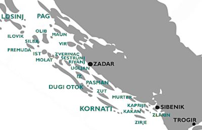 Property for sale on the North Dalmatian Islands
