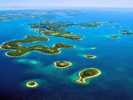 Croatia - islands, islets and reefs