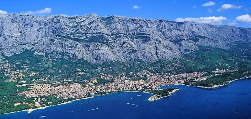 The town of Makarska, Central Dalmatia