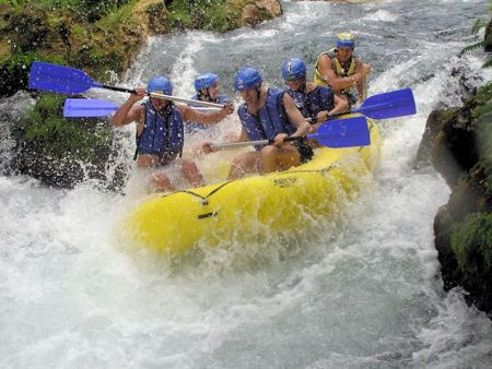 Rafting, Cetina River, Central Dalmatia