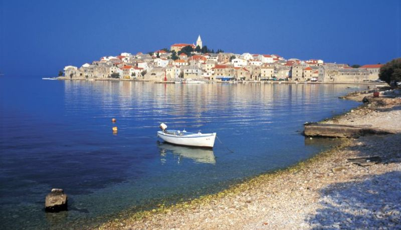 The town of Šibenik, North Dalmatia