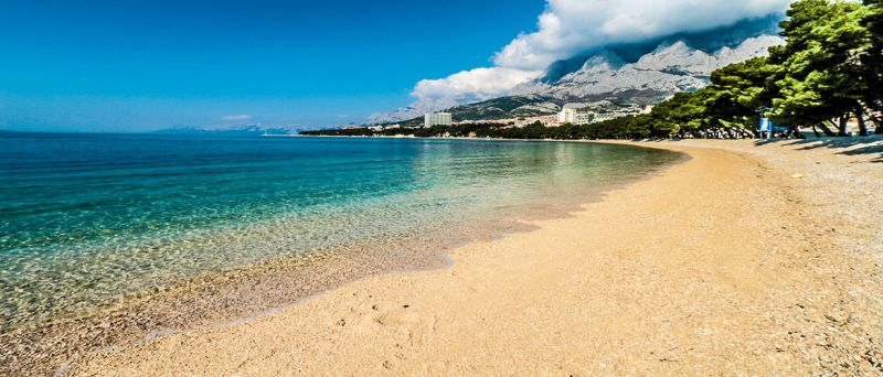 Makarska Beach, The Makarska Riviera, Central Dalmatia