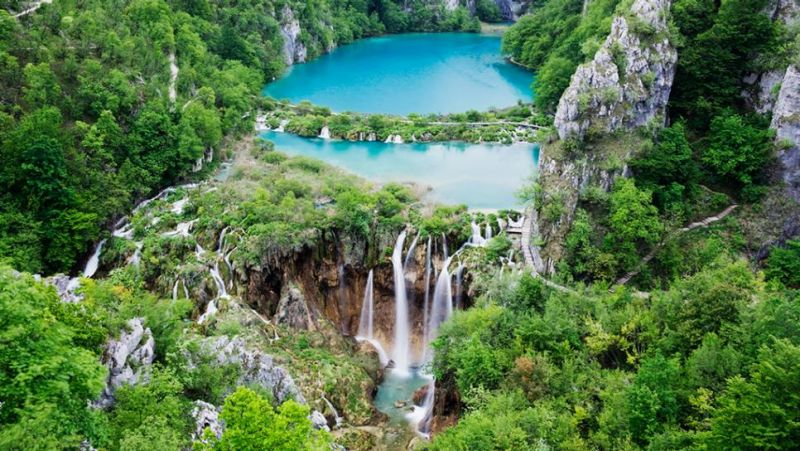 Plitvice Lake National Park, North Dalmatia