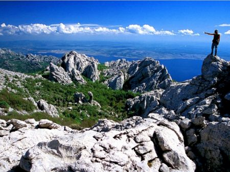 The Paklenica National Park, Zadar County, North Dalmatia