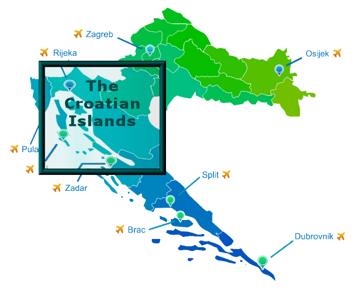 The Croatian Islands