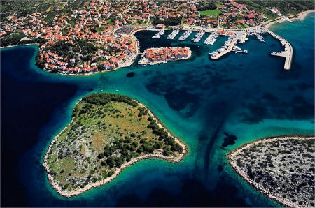 Tribunj - a small fishing village in Dalmatia