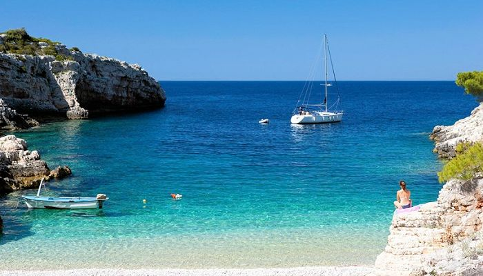 Peaceful Beaches on Croatian Islands