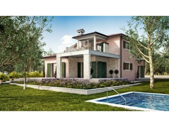 Detached villa with pool for sale Umag
