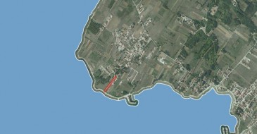 Sea shore building plot for sale in Privlaka